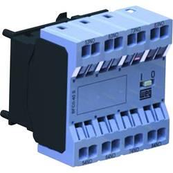 Hilfsschalterblock (value.1429016) 1 stk BFC0-40S WEG 6 A Passer til serie: Weg Serie CWC0 (3-polet)