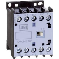 Kontaktor 1 stk CWC012-01-30C03 WEG 3 x afbryder 5.5 kW 24 V/DC 12 A med hjælpekontakt