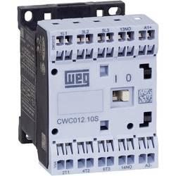 Kontaktor 1 stk CWC012-10-30C03S WEG 3 x afbryder 5.5 kW 24 V/DC 12 A med hjælpekontakt