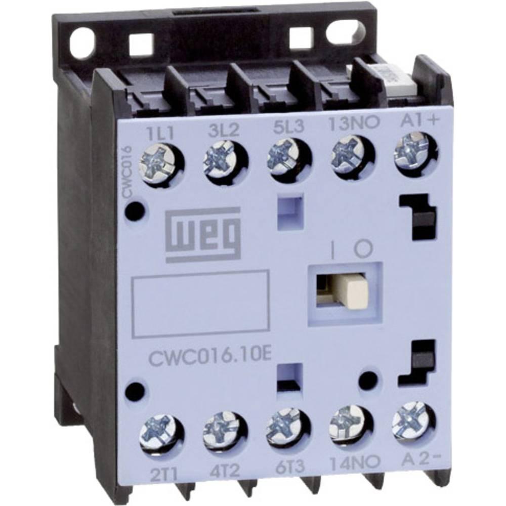 Kontaktor 1 stk CWC016-01-30D24 WEG 3 x afbryder 7.5 kW 230 V/AC 16 A med hjælpekontakt
