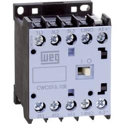 Kontaktor 1 stk CWC07-01-30C03 WEG 3 x afbryder 3 kW 24 V/DC 7 A med hjælpekontakt