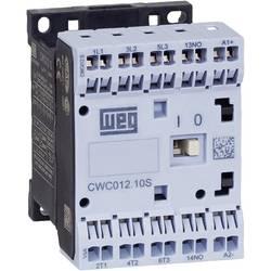 Kontaktor 1 stk CWC07-10-30C03S WEG 3 x afbryder 3 kW 24 V/DC 7 A med hjælpekontakt