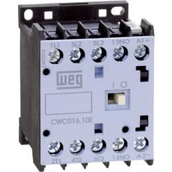 Kontaktor 1 stk CWC09-10-30C03 WEG 3 x afbryder 4 kW 24 V/DC 9 A med hjælpekontakt