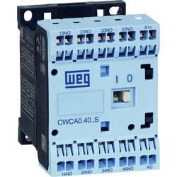 Kontaktor 1 stk CWCA0-31-00D24S WEG 3 x afbryder, 1 x brydekontakt 230 V/AC 10 A