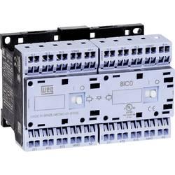 Vendekontaktor 1 stk CWCI07-01-30D24S WEG 6 lukker 3 kW 230 V/AC 7 A med hjælpekontakt