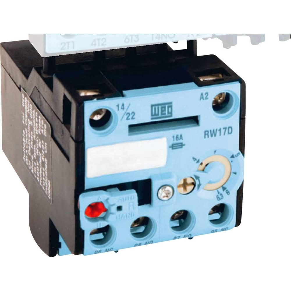 Zaščitni rele motorja za kompaktne kontaktorje CWC0 WEG RW17-1D3-U017 zaščitni rele motorja