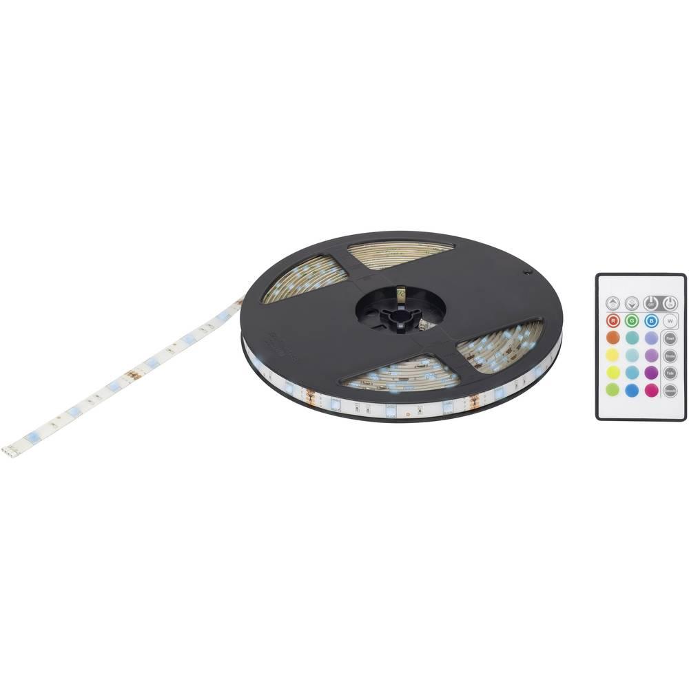 LED-båndsæt med stik Renkforce 1398971 12 V 1000 cm RGB