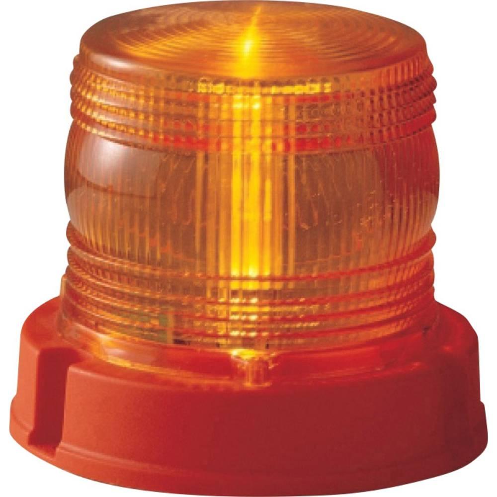 Rotorblink 12 V, 24 V via ledningsnet Skruemontering Orange AJ.BA