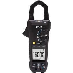 Tokovne klešče, ročni multimeter, digitalni FLIR CM82 kalibriran po: tovarniškem standardu, CAT III 1000 V, CAT IV 600 V