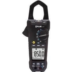 Tokovne klešče, ročni multimeter, digitalni FLIR CM85 kalibriran po: tovarniškem standardu, CAT IV 600 V, CAT III 1000 V