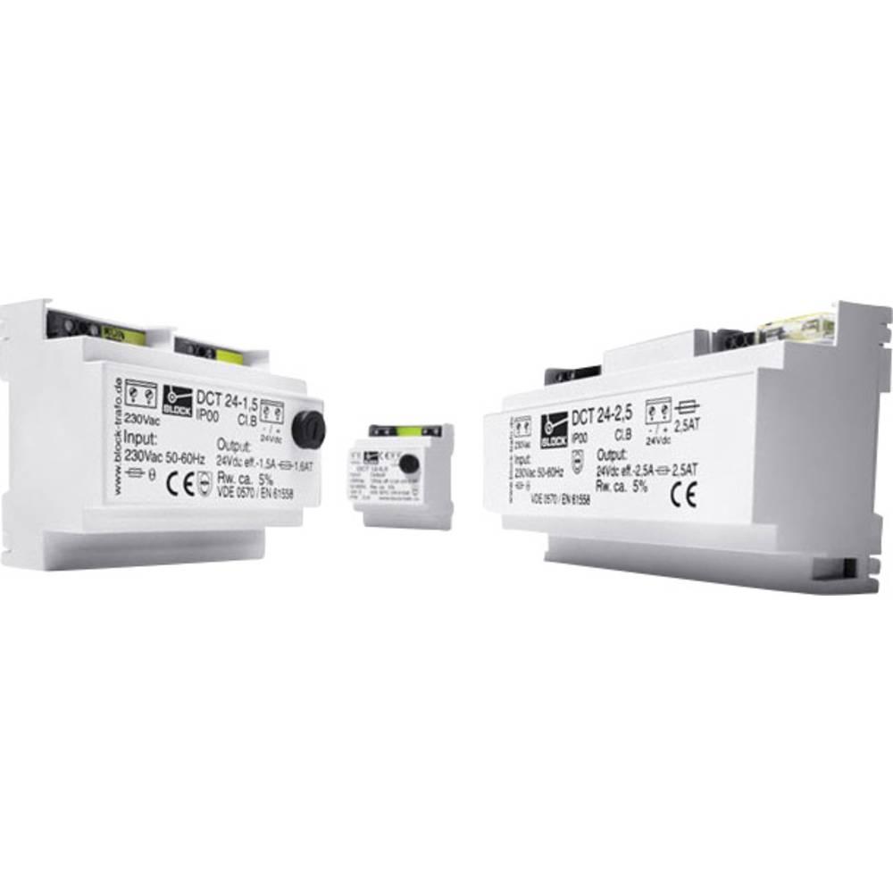 Enosmerni napajalnik 0,5 A 12 V/ DC 6 W Block vsebina: 1 kos