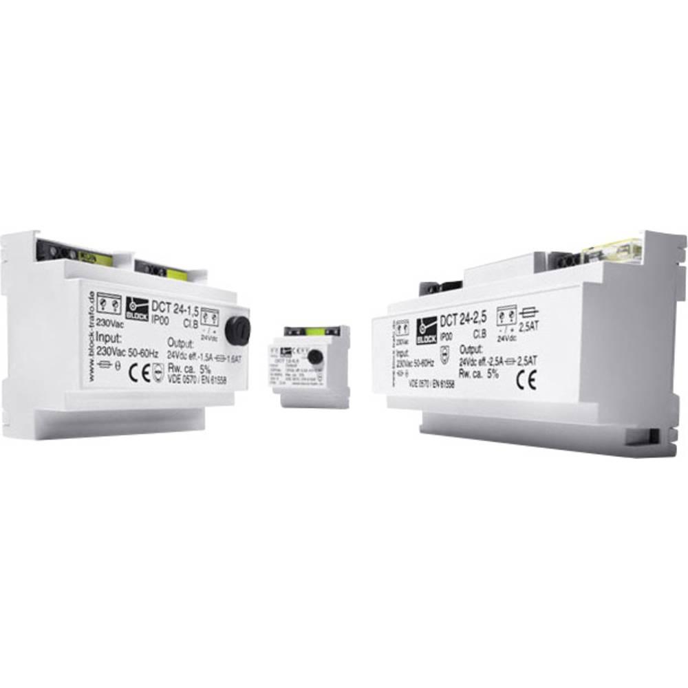 Enosmerni napajalnik 4 A 12 V/ AC 48 W Block vsebina: 1 kos