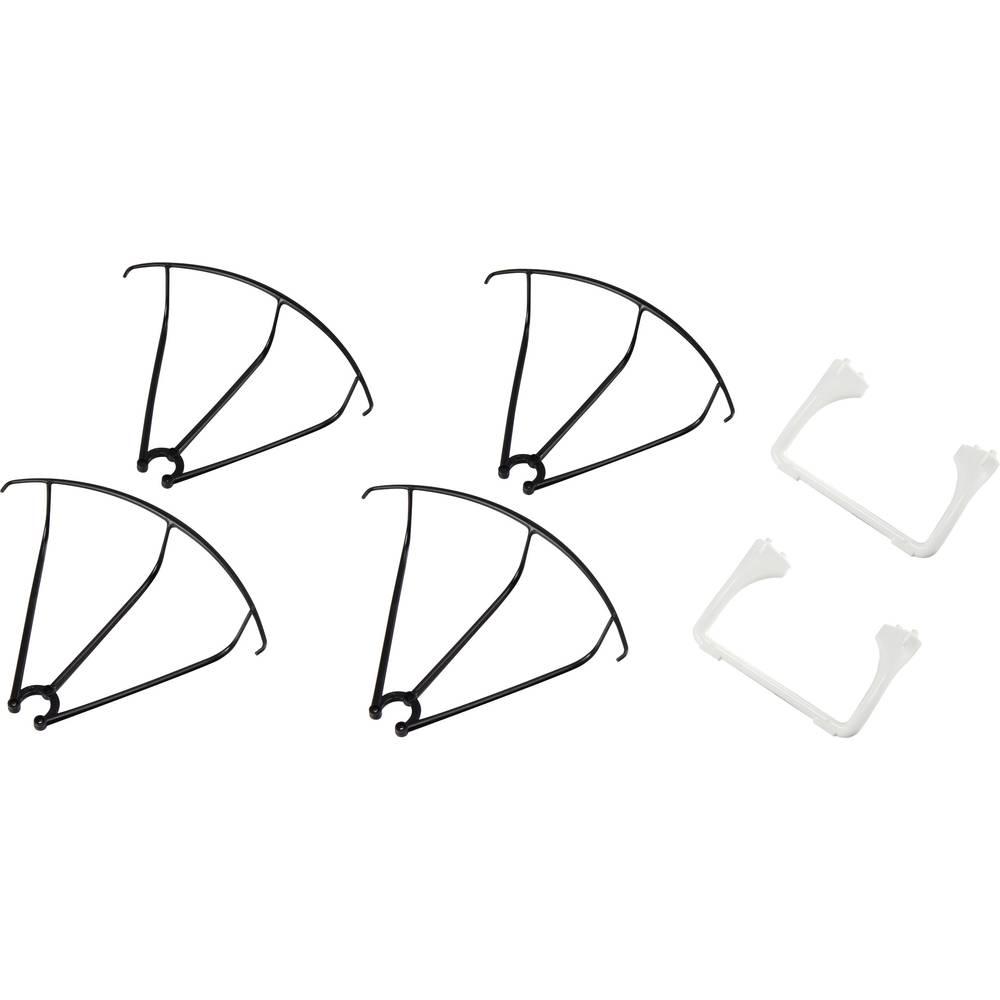 Reely ET - okvir / , zaščita propelerja, quadrokopter Cyclone 245 FPV RtF V686-04+39