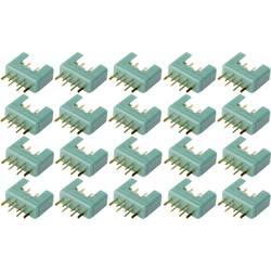 vtič akumulatorja mpx pozlačen 20 KOS Reely 1399711