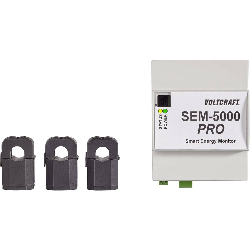 VOLTCRAFT Smart Energy monitor SEM-5000 PRO 0.02 - 75 A/faza
