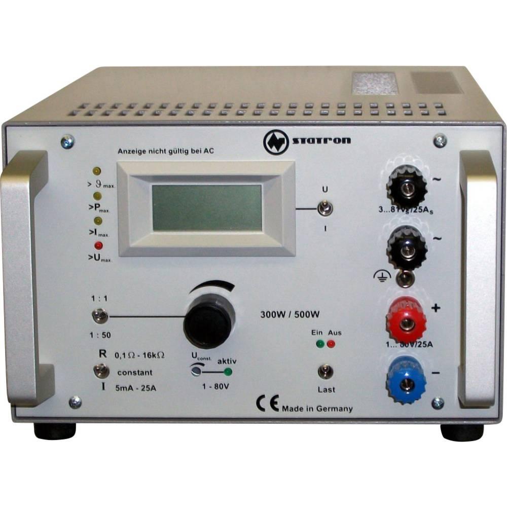 Elektronski obremenilnik Statron 3227.31 80 V/DC in V/AC 25.5 A 300 W