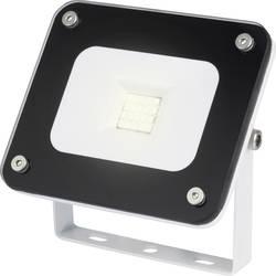 LED-utomhusspotlight Renkforce Merida 10 W 750 lm Kallvit Svart, Grå