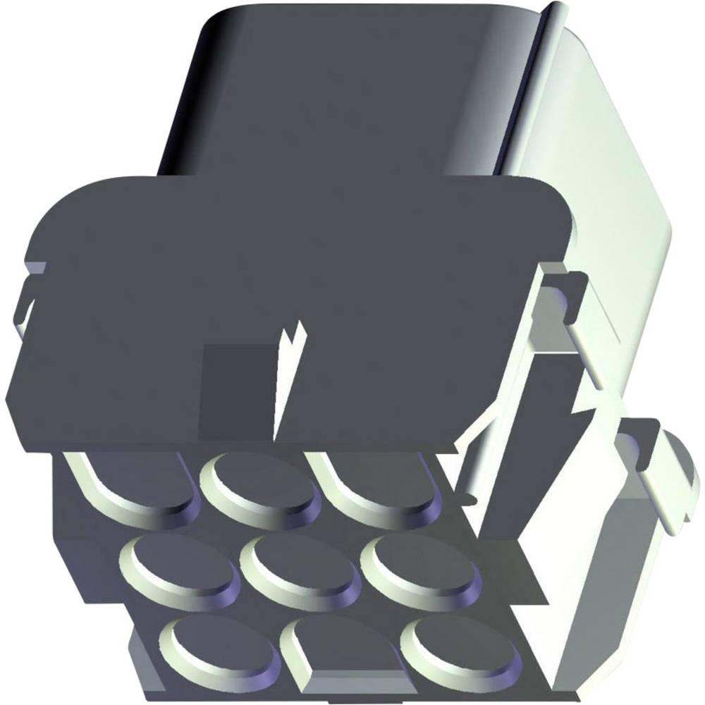 Ohišje za ženske konektorje, univerzalni MATE-N-LOK skupno št. polov 3 TE Connectivity 927231-3 1 kos