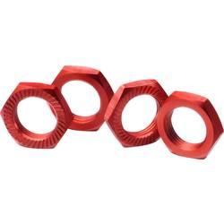 Absima 1:8 matica za kolo,aluminijasta,samozatezna rdeča (2560007)
