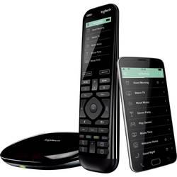Daljinski upravljač Harmony Elite Logitech IC, Bluetooth®, WLAN crna