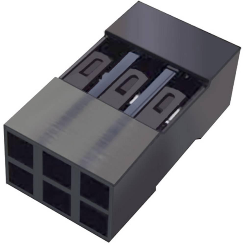 Tilslutningskabinet-kabel Mini-PV Samlet antal poler 8 FCI 65043-033ELF Rastermål: 2.54 mm 1 stk
