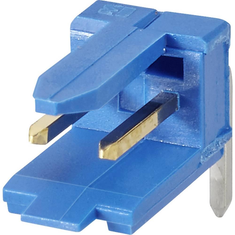 Stiftliste (standard) DUBOX (value.1360598) Samlet antal poler 5 FCI 76382-305LF Rastermål: 2.54 mm 1 stk