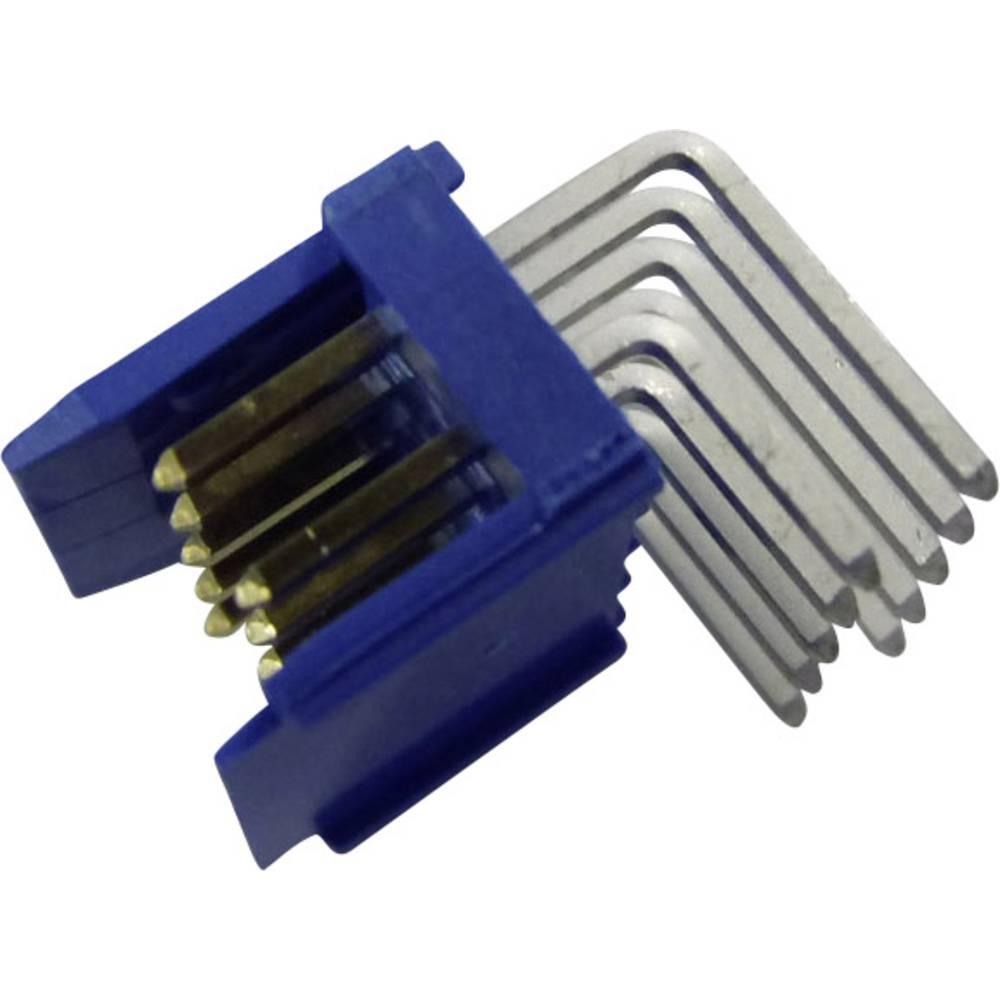 Stiftliste (standard) DUBOX (value.1360598) Samlet antal poler 14 FCI 76383-307LF Rastermål: 2.54 mm 1 stk