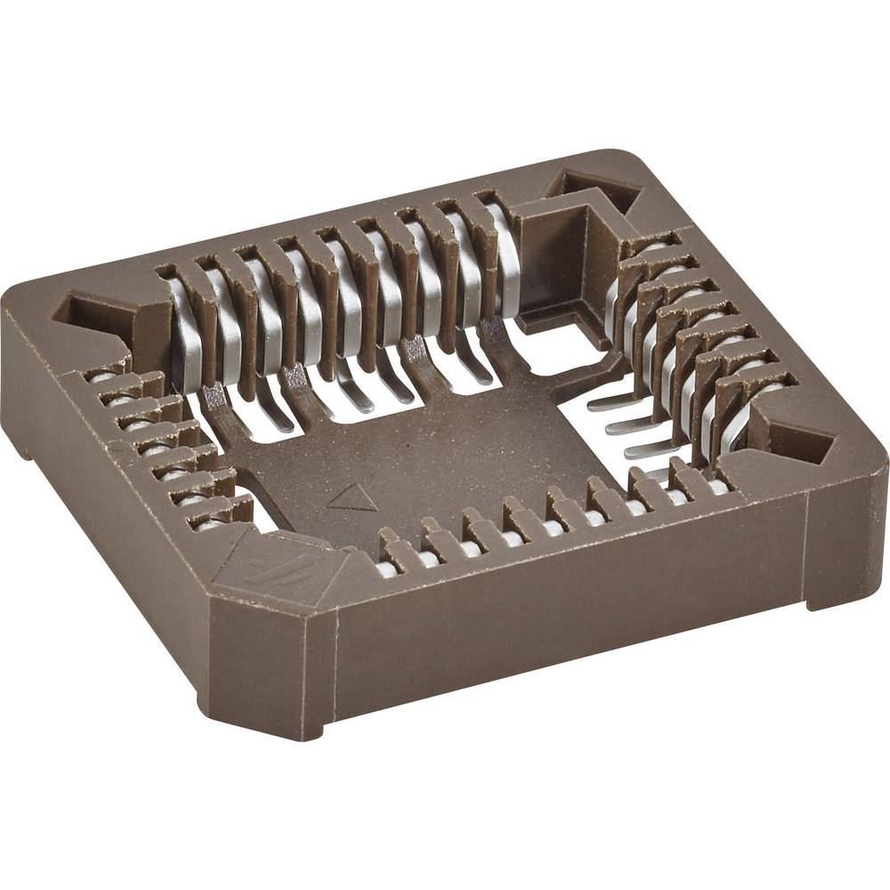SMD PLCC-fatning Rastermål: 1.27 mm Poltal: 32 FCI 1 stk