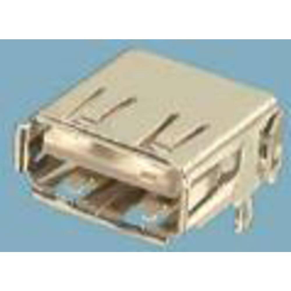 Vgradna vtičnica USB tip A 2.0 vtičnica, navpična namestitev, USB 1 vhod FCI vsebina: 1 kos