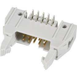 Pole-stikforbindelse med langt udløsergreb, inkl. Aflastsningsklemme Rastermål: 2.54 mm Samlet antal poler: 14 FCI 1 stk