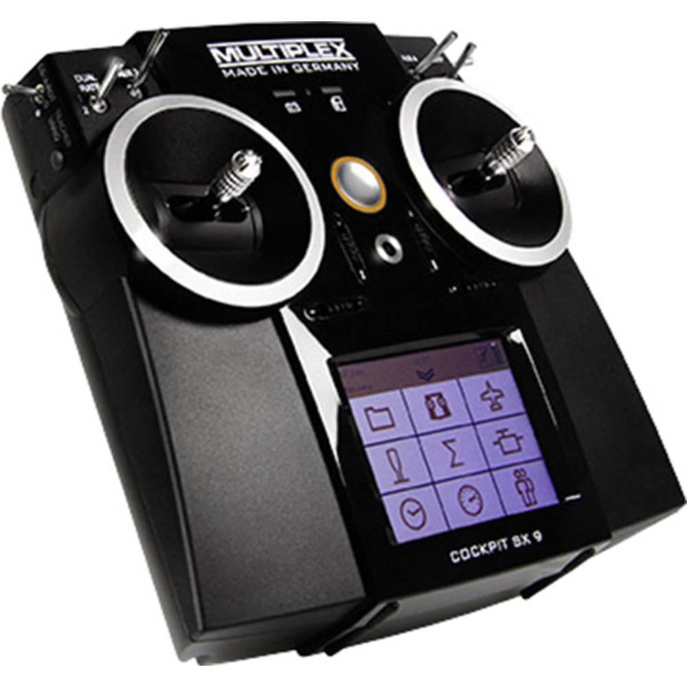 Multiplex Cockpit SX 9 Ročni daljinski upravljalnik 2.4 GHz Število kanalov: 9