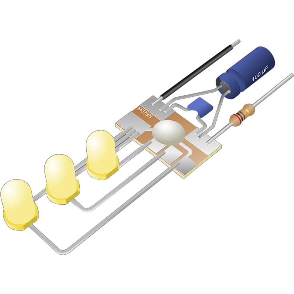 Svetlobni modul Kemo M079N, komplet za sestavljanje, 3 V/DC, 6 V/DC