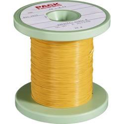 Lakirana bakrena žica vanjski promjer (uklj. izolacijom)=0.30 mm vanjski promjer (bez izoliranja)=0.10 mm 80 m Pack Litz Wire