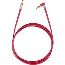 Cinch avdio priključni kabel [1x Cinch vtič 2.5 mm - 1x Cinch vtič 3.5 mm] 1.50 m črna pozlačeni kontakti Oehlbach