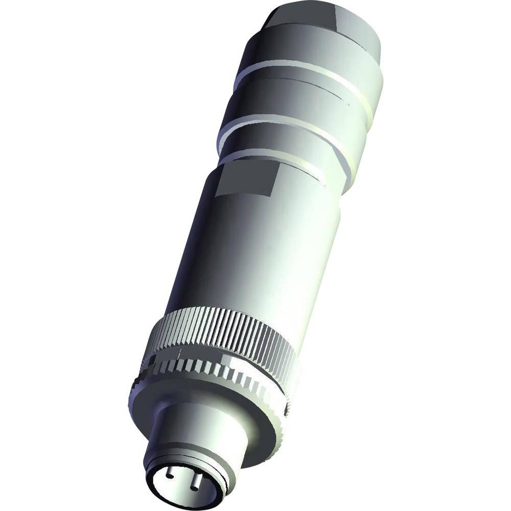 Aktuatorsko-senzorski vtični priključek M12, raven vtič 3-2271113-2 TE Connectivity vsebina: 1 kos