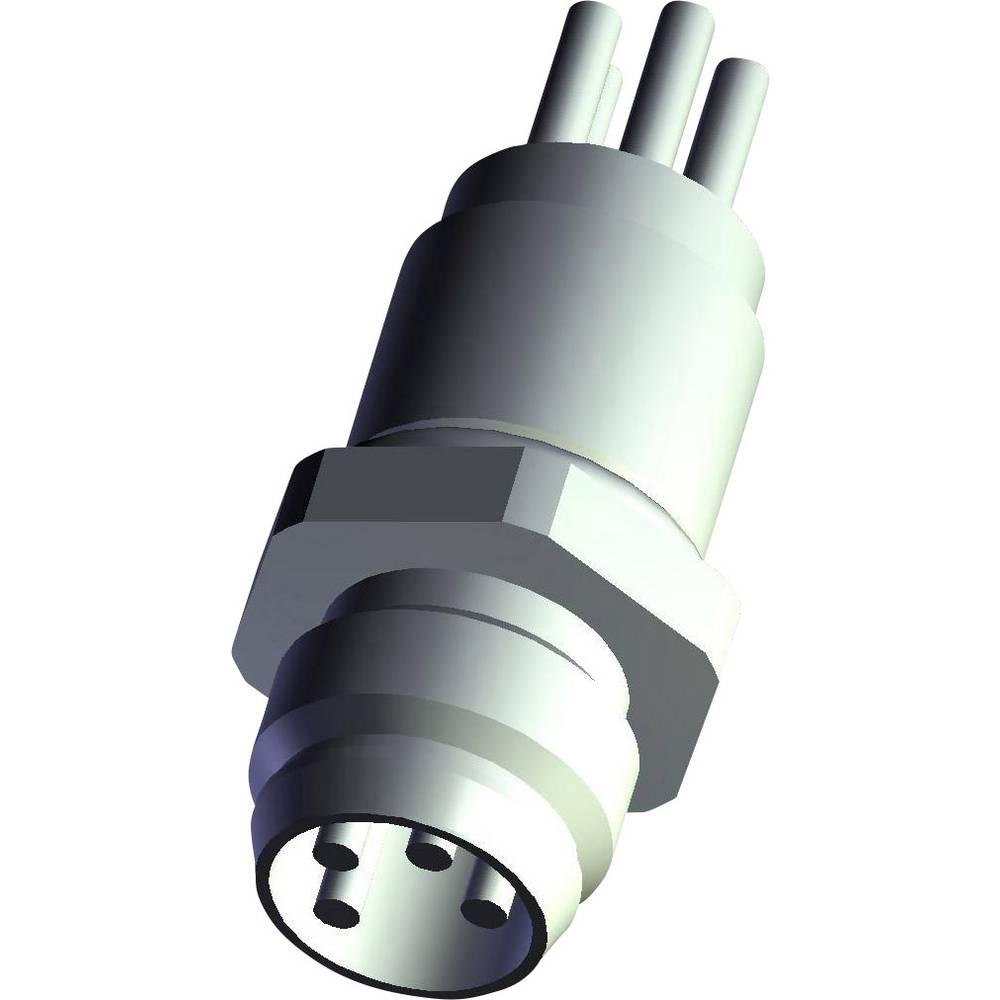 Aktuatorsko-senzorski vtični priključek M12, vgradni vtič 5-2271134-2 TE Connectivity vsebina: 1 kos