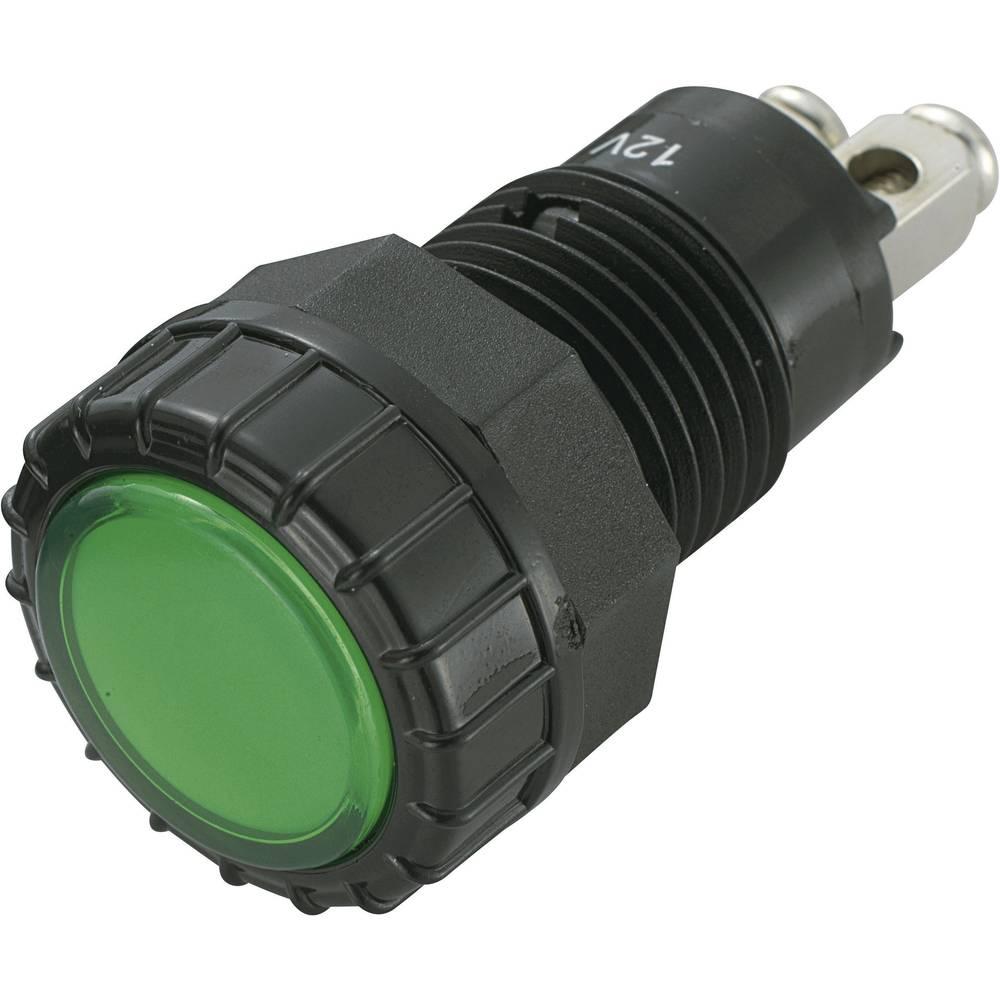 LED-Signalleuchte (value.1317401) SCI 140351 12 V/DC 20 mA Grøn