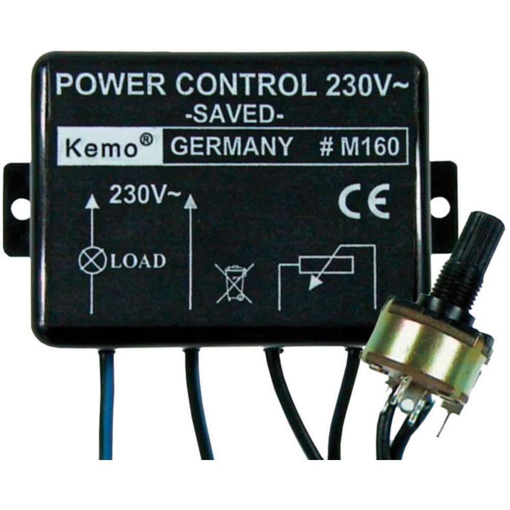 Regulator snage Kemo Kemo Electronic GmbH 110 V/AC, 230 V/AC, ugradbeni element