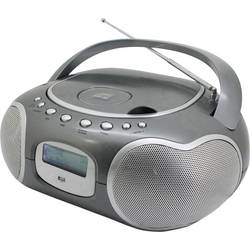 DAB+ CD-radio SoundMaster SCD4200TI AUX, CD, DAB+, UKW, USB titan