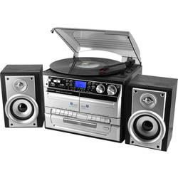 Kompaktstereo SoundMaster MCD4500 Svart, Silver