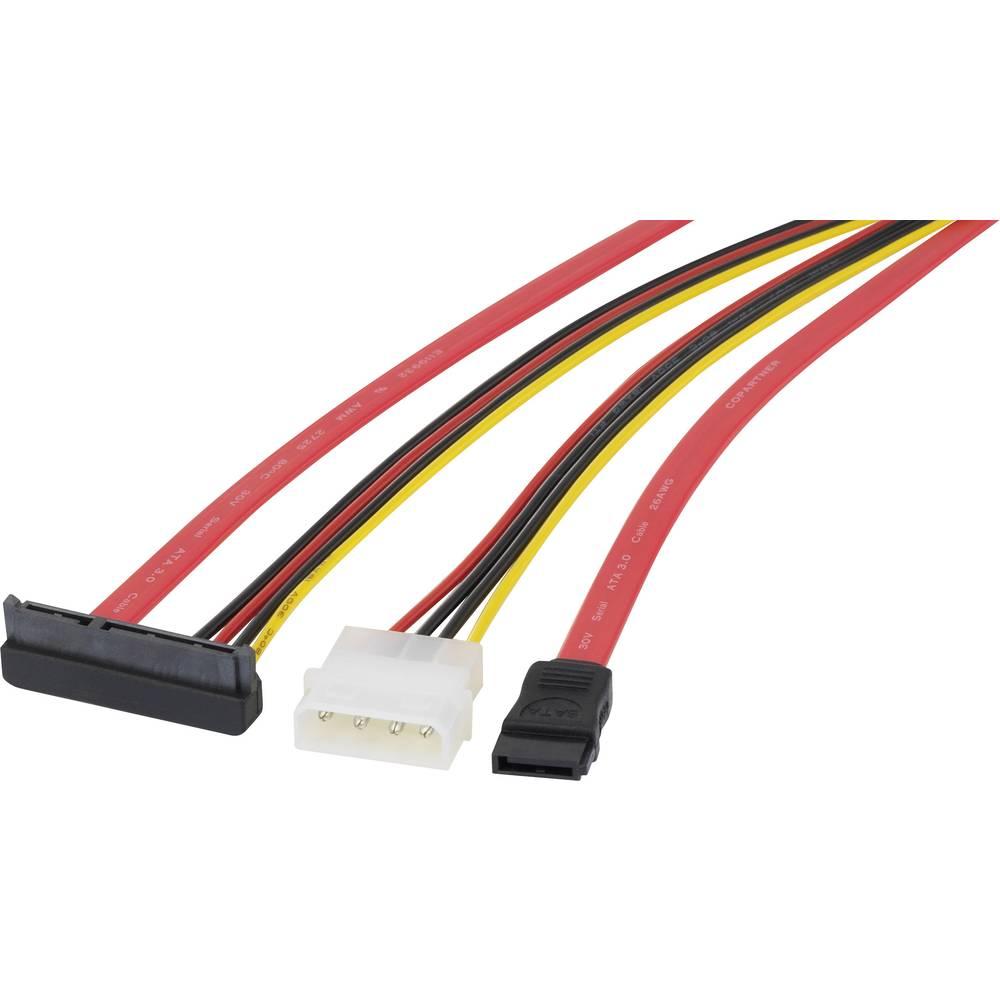 Priključni kabel za trdi disk [1x SATA-vtičnica 7 polni, IDE ...