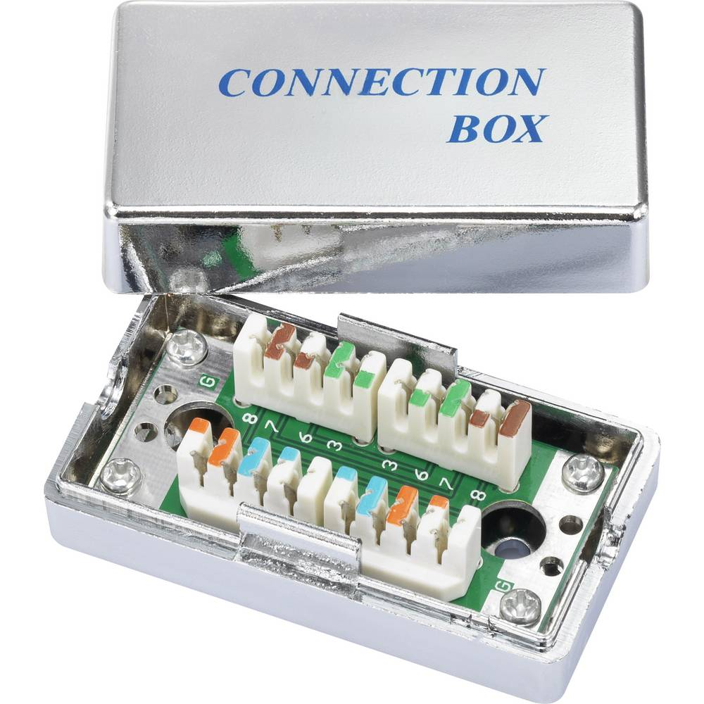 Connection Box primeren za: CAT 5e Renkforce