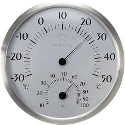 Termo-/Hygrometer Renkforce Rostfritt stål, Grå
