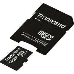 microSDXC-kartica 64 GB Transcend Premium Class 10, UHS-I vklj. SD-adapter