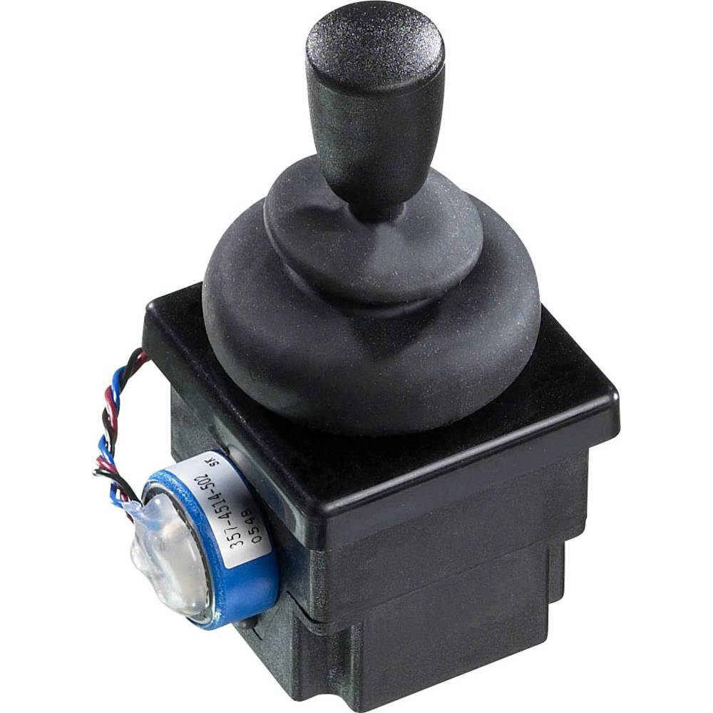 Upravljačka ručka 500 V/DC ravna ručka, žičani priključak IP65 APEM 4R28-2H1E-55-360 1 kom.
