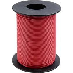 Vodnik 1 x 0.2 mm rdeče barve BELI-BECO D 105/100 100 m
