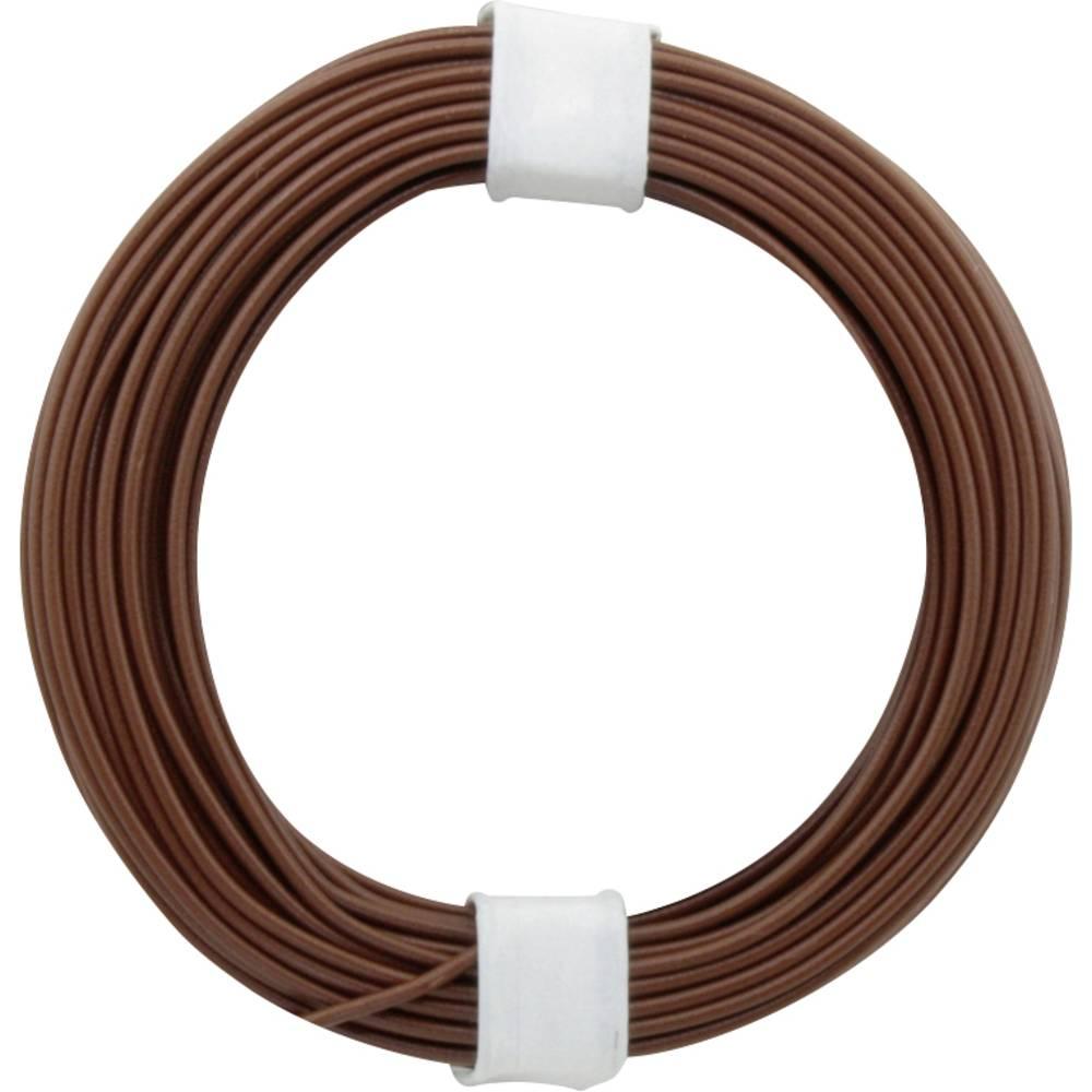 Vodnik 1 x 0.2 mm rjave barve BELI-BECO D 105/10 10 m