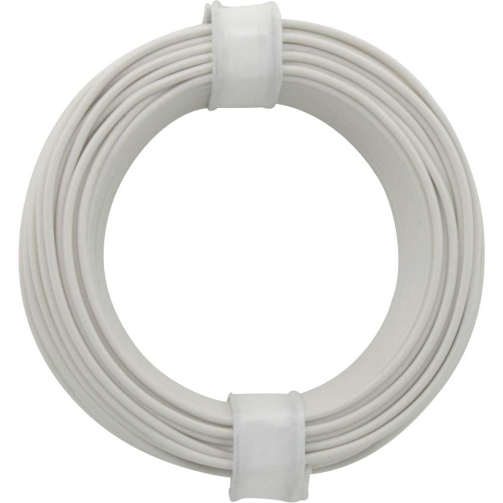 Kopplingstråd 1 x 0.20 mm² Vit BELI-BECO D 105/10 10 m