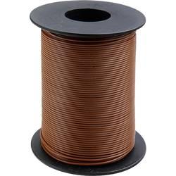 Vodnik 1 x 0.2 mm rjave barve BELI-BECO D 105/100 100 m