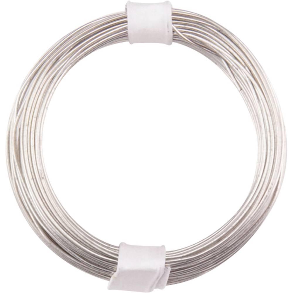 Bakrena žica zunanji premer (brez izolacijskega laka)=0.60 mm 10 m BELI-BECO